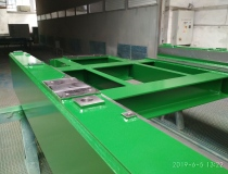 Frame uder the gearbox - complete production