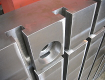 Clamping table detail - machining