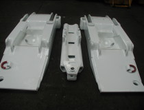 Base frames of mine supports - complete production